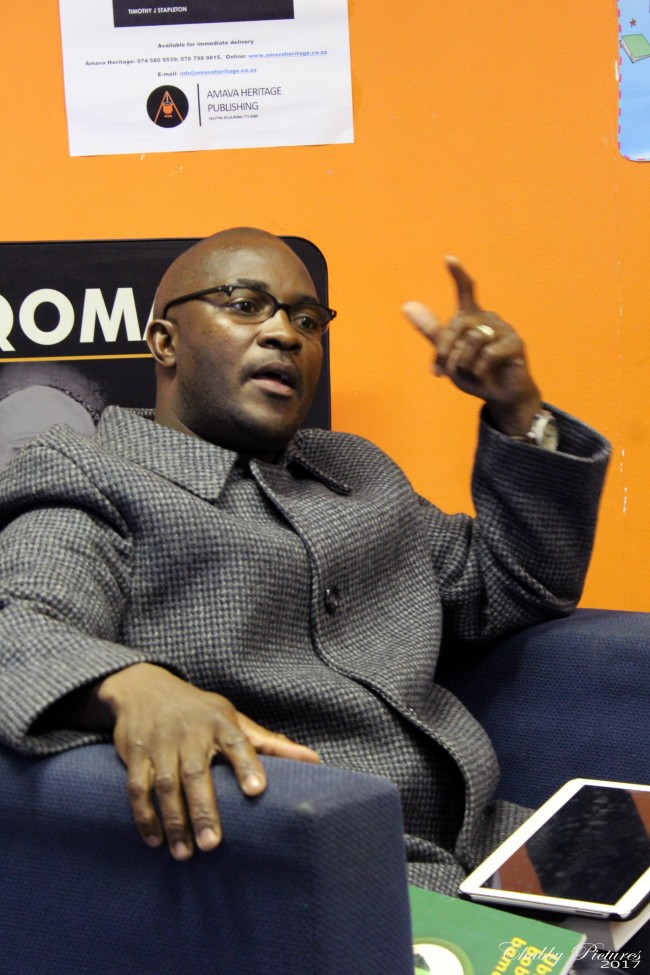 Themba Ngada answering a question from the Convener
