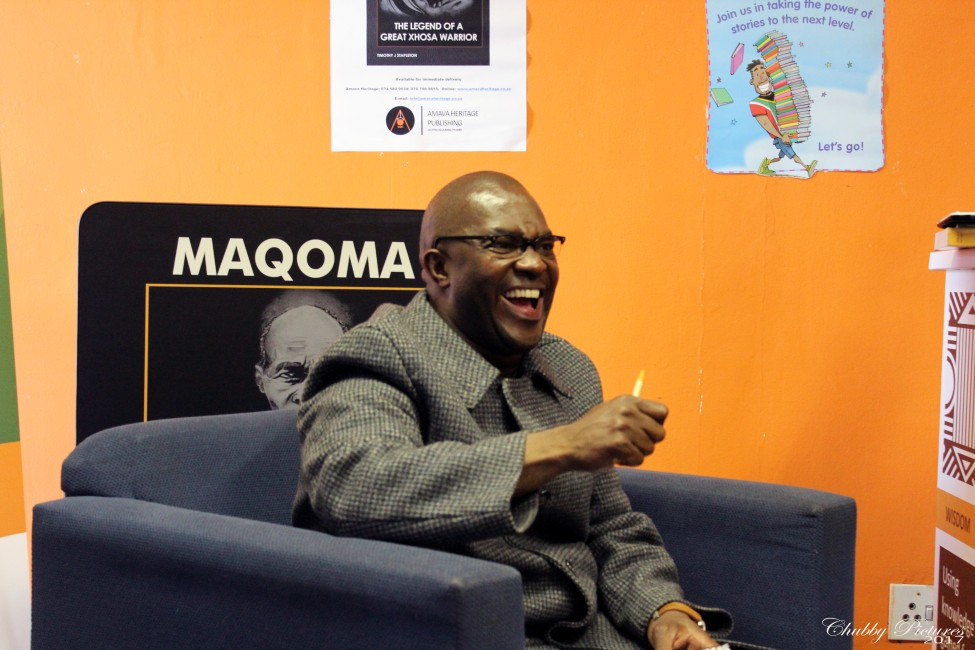 Laughing/lighter moments during the book launch