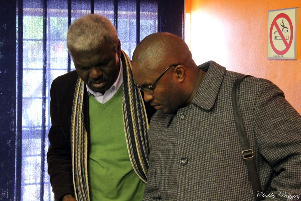 Themba with Amava Heritage Administrator